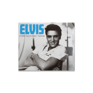 Elvis Presley Year In A Box 2020 Calendar