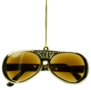 Elvis TCB Sunglasses Ornament