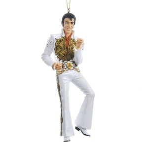 Elvis Sun Dial Jumpsuit Ornament