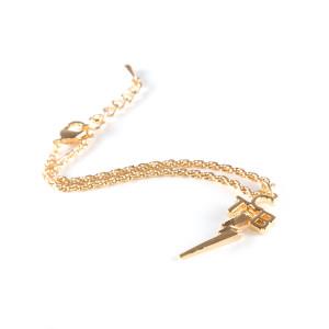 Lowell Hays TCB 18K Gold Plated Bracelet