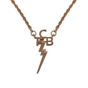 Lowell Hays TCB 18K Gold Plated Necklace