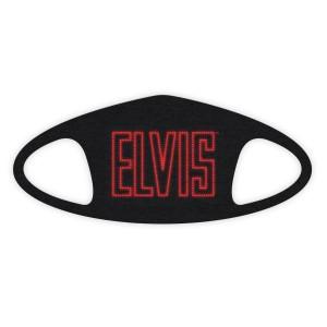 ELVIS in Lights Face Covering