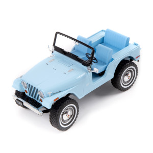 Elvis Presley - Jeep CJ-5 - Sierra Blue 1:18