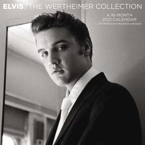 Elvis Presley Wertheimer Collection 2021 Calendar