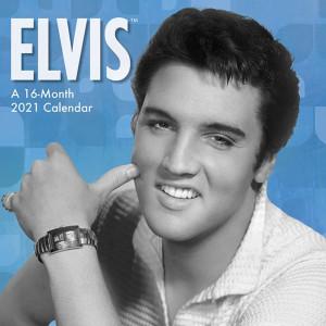 Elvis Presley Mini 2021 Calendar