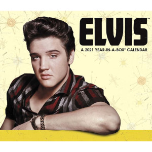 Elvis Presley Year In A Box 2021 Calendar