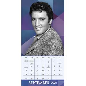 Elvis Presley 2021 16 Month Wall Calendar
