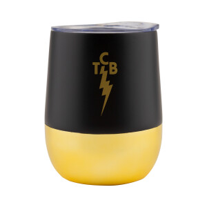 TCB Gold 12oz Tumbler