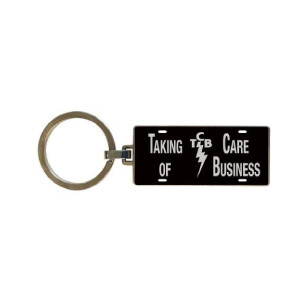Elvis TCB Keychain