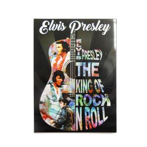 Elvis Colorful Guitar Magnet