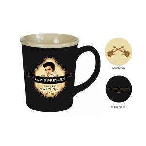 Elvis Shield Mug