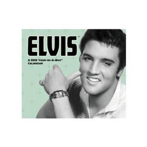 Elvis Presley 2022 Year-In-A-Box Calendar