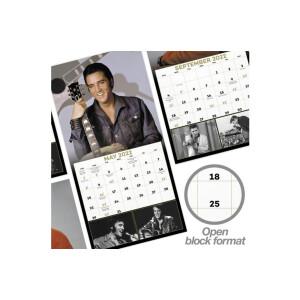 Elvis Presley 2022 Mini Monthly Wall Calendar