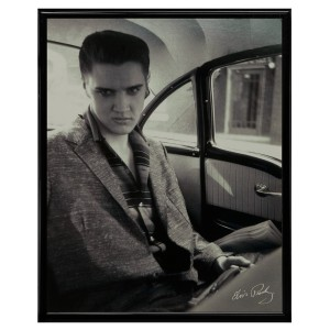 "Elvis Car Framed 8x10"" Print"