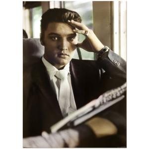 Elvis Presley Traveling Poster