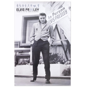 Elvis Presley '56 In Person Poster