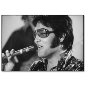Elvis I Really Like Vegas 60cm x 80cm Print
