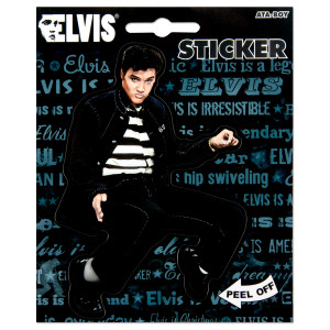 Elvis Jailhouse Rock Sticker