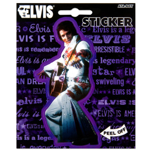 Elvis Jumpsuit Guitar Sticker