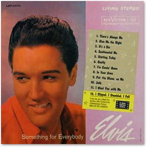 Elvis Something For Everybody FTD CD