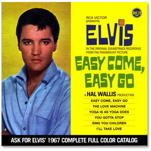Elvis Easy Come; Easy Go FTD CD