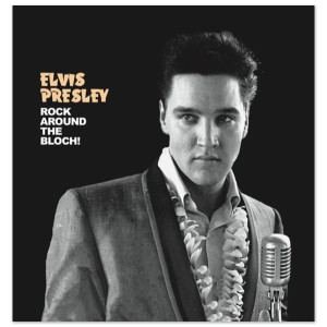 Elvis Presley Rock Around the Bloch FTD Book/CD