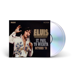 "Elvis Presley - FTD ST. PAUL TO WICHITA - OCTOBER '74"" (2-CD)"