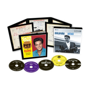 """""""ELVIS: THE POT LUCK SESSIONS"""" (5-CD) FTD"""