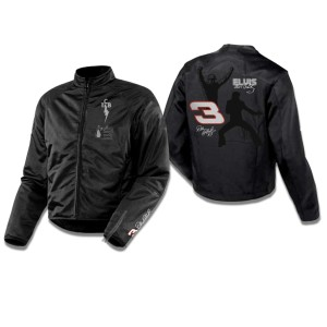 Elvis and Dale Earnhardt Fantasy Race Car Leather Jacket