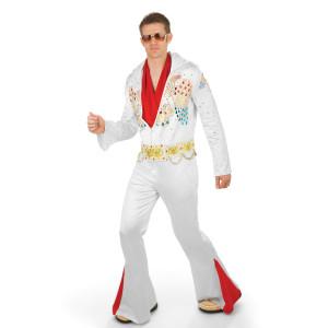 Elvis Adult Deluxe Jumpsuit Costume