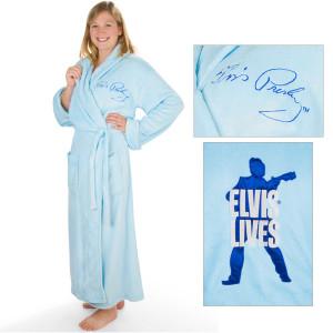 Elvis Lives Full Length Robe