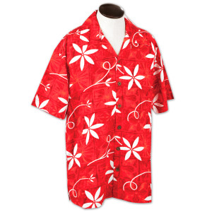 Elvis Hawaii Button-Down Shirt