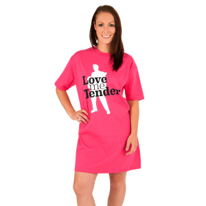Elvis Love Me Tender Women's Nightshirt