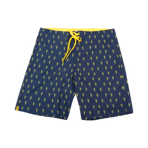 TCB OG Board Shorts - Navy and Yellow