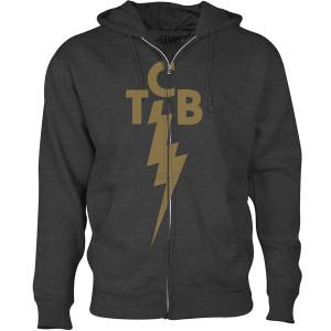 TCB Gold Full-Zip Hoodie