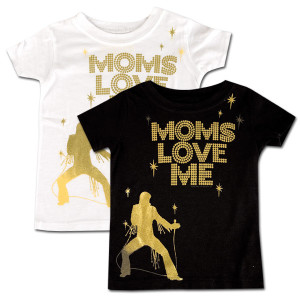 "Elvis - ""Mom's Love Me"" Toddler T-shirt"