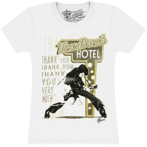 Elvis Heartbreak Hotel Ladies T-Shirt