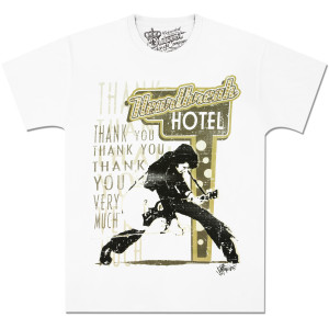 Elvis Heartbreak Swarovski T-Shirt