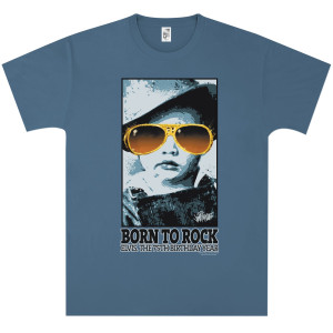 Elvis Born to Rock Adult T-Shirt
