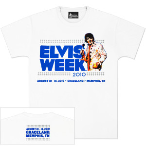 Elvis Week 2010 T-Shirt
