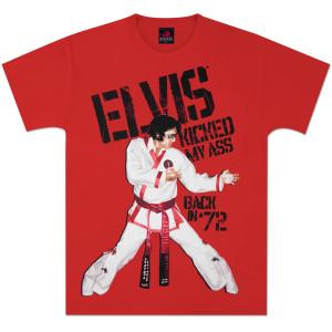 Elvis Back In 72 T-Shirt