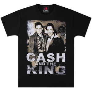 Elvis Cash and King T-Shirt