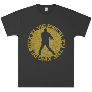 Elvis King of Circle T-Shirt