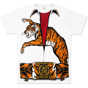 Elvis Mad Tiger Jumpsuit T-Shirt