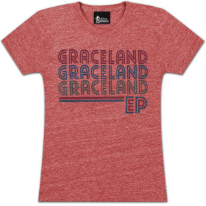 Elvis Graceland Repeat Ladies T-shirt