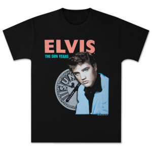 Elvis Presley The Sun Years T-Shirt
