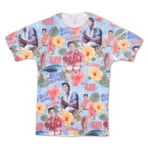 Elvis Presley Aloha Total Print T-Shirt