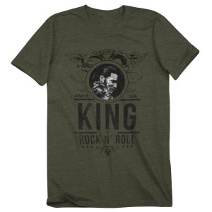 Elvis King of Rock 'n' Roll T-Shirt