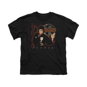 Elvis Karate Youth T-Shirt
