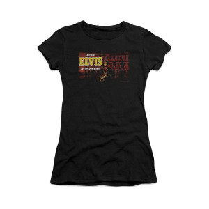 Elvis From Elvis In Memphis Women's Sheer T-Shirt